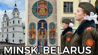 Minsk, Belarus 2017 - Where Soviet Communism meets Capitalism