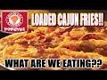 Popeye's LOADED Cajun Fries - WHAT ARE WE EATING?? - The Wolfe Pit