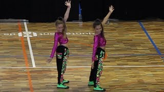 Girls dancing | Marta & Claudia in NO BRAKES| HOT STEPS Sabadell 2014