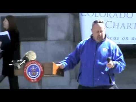 Colorado charter school rally