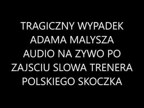 Adam Malysz Tragiczny Wypadek Na Treningu 2008 Niepublikowane