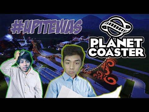 UPI TEWAS KARENA PEMBANGUNAN AMUSEMENT PARK INI!! #TEWASLAND - Planet Coaster Ep. 2