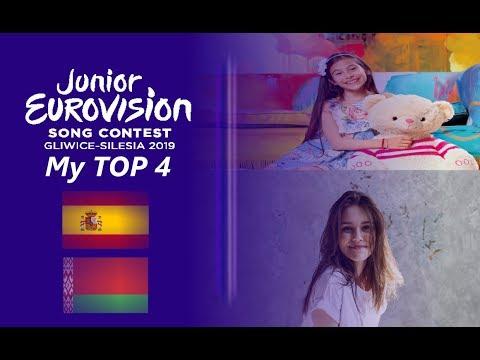 Junior Eurovision 2019 : My TOP 4 Song (So Far)(20.09.2019)
