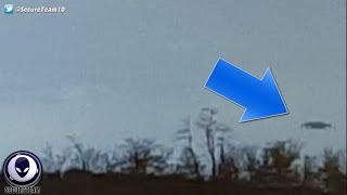 GHOSTLY Black Saucer UFOs Seen Hiding Among Us & More! 4/14/16