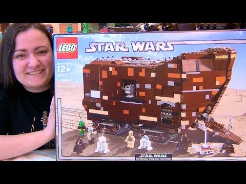 LEGO UCS Sandcrawler 10144 Star Wars Build & Review