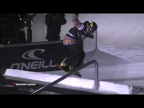 Kyle Mack - First Ever Frontside Triple Rodeo - O'Neill Evolution 2013 - Superfinal