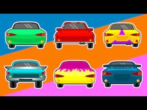Racing Cars Sports Car for  Kids | Cars, Trucks and Emergency Vehicles for Kids