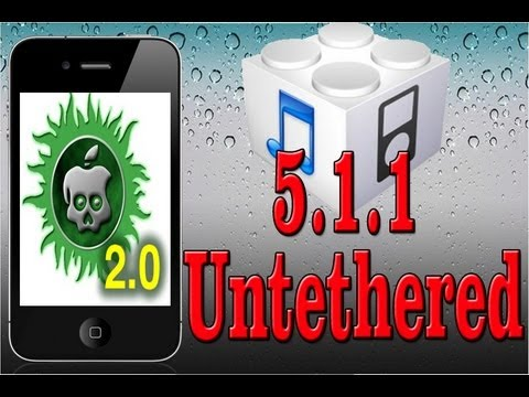 NEW UNTETHERED 5.1.1 Jailbreak iPad3.2.1 iPhone4S.4.3GS iPod Touch 4.3. Apple TV2G - Absinthe