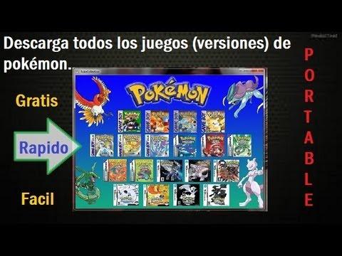 Descargar Todos Los Juegos (Versiones) De Pokémon para PC[1link] 2013-2014