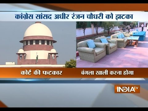 SC Tells Congress MP Adhir Ranjan Chowdhury to Have Some Dignity