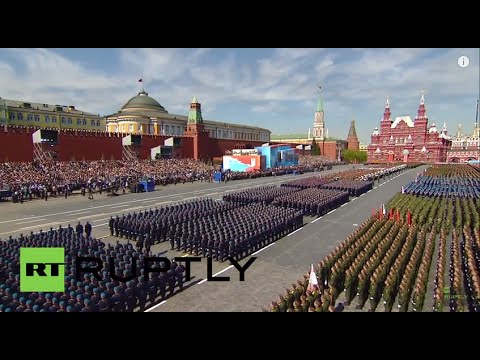 Russia: Victory Day celebrations get underway in Moscow's Red Square