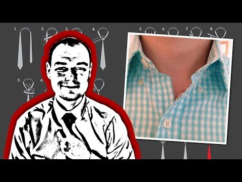 How to Tie the Invisible Necktie Knot