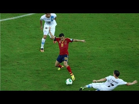 Pedro Rodriguez vs Uruguay HD 720p (Confederations Cup) [Cropped]
