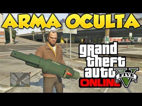 GTA 5 Gameplay Con Arma Oculta Mod Grand Theft Auto V