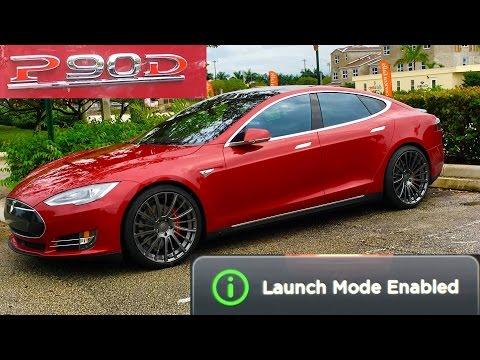 Tesla P90D Test Drive (Ludicrous mode)
