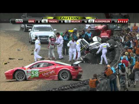 AUSmotive: Allan McNish crash Le Mans 2011 (HD)