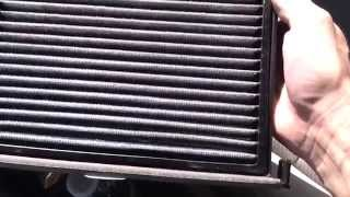how to change the cabin filter on a toyota venza