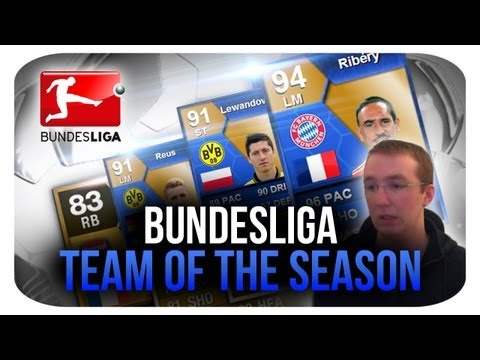 FIFA 13: Bundesliga TOTS Pack Opening - Hunting for BLUES! (Live Facecam)