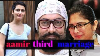 AAMIR GETTING MARRIED THIRD TIME ! BOLLYWOD BUZZZ