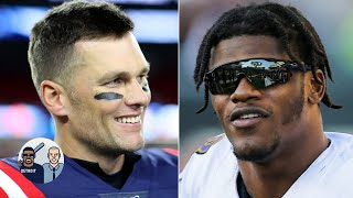Tom Brady challenges Lamar Jackson to a race | Jalen & Jacoby