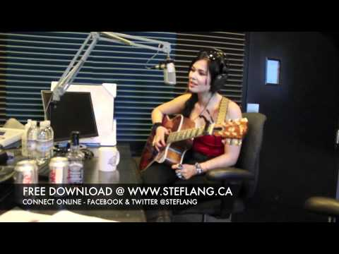 Stef Lang Visits 107.5 Kool Fm - Barrie, ON