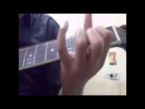Tujhko Jo Paya (Mere Bina)-Crook (guitar chords)