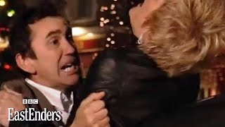 Kevin kidnaps Shirley - EastEnders - BBC