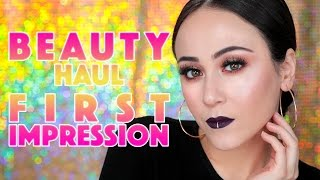 FULL FACE OF FIRST IMPRESSIONS MAKEUP TUTORIAL | Produkte vom 1100€ Beauty Haul | Hatice Schmidt