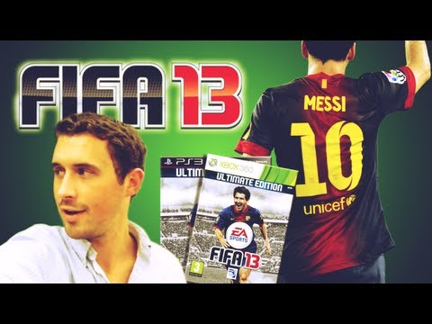 FIFA 13 Exclusive Gameplay - Bayern Munich vs. Barcelona - Air Japes vs Hjerpseth