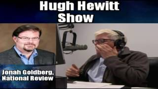 Hugh Hewitt and (((Jonah Goldberg)))Debate Racism and the Alt-right of the Republic Party