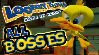 Looney Tunes: Back in Action All Bosses (PS2, Gamecube)