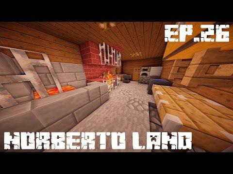 Minecraft :: Norberto land :: Kovács manufaktúra belső :: Ep.26