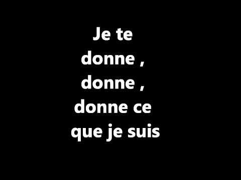 Gnration Goldman - Je te donne (Leslie &amp; Ivyrise) Parole par Kelly laswageuse