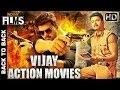 Vijay Full Hindi Dubbed Movies | Back To Back Hindi Action Movies | South Indian Dubbed Movies