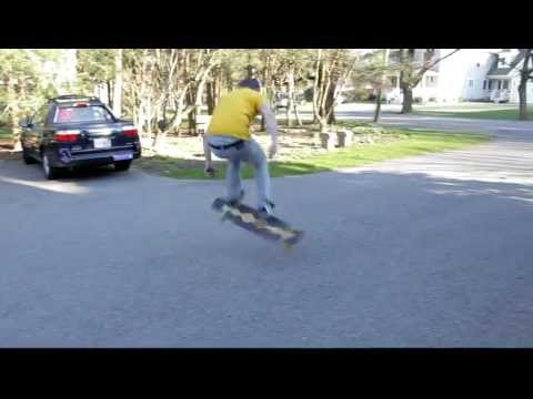 Brian Bishop Old School Treflips a Bhangra