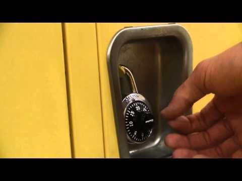 Lynnwood High School Presents: How to use a lock