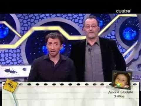 Pablo Motos y Jean Reno