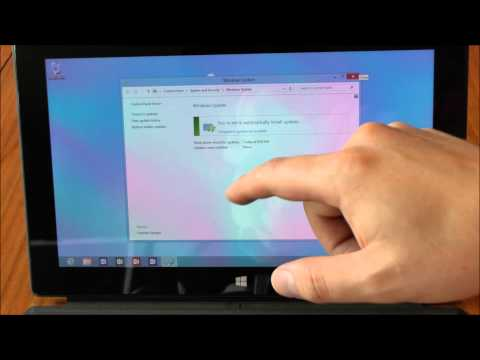 How to Update Microsoft Office Home & Student 2013 RT Preview on Microsoft Surface