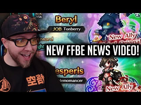 Beryl & Ellesperis Soon! Fryevia 7*! - [FFBE] Final Fantasy Brave Exvius