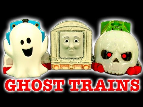 Thomas The Ghost Engine Halloween How To Make Epic Scary Trackmaster Trains