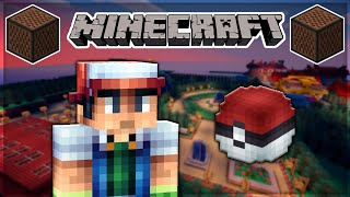 ♪ [FULL SONG] MINECRAFT Pokémon Theme Song in Note Blocks ♪