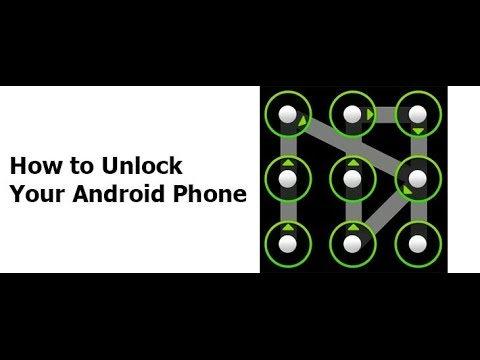 How To Unlock Android Pattern Or Password. No Software No Root Needed
