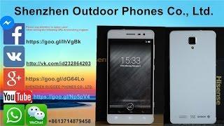 Hisense C20 IP67 Rugged 2GB 16GB Snapdragon 415 MSM8926 64Bit Octa Core 4G 5.0 inch Cornling