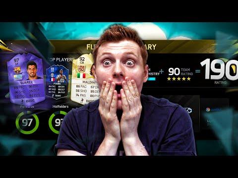 I GOT THE BEST 190 FUT DRAFT EVER!!! - FIFA 16 Ultimate Team