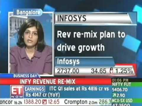 Infosys' revenue re-mix plan to drive growth