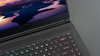 MSI GS65 (2019) Review - Lightest RTX Gaming Laptop!