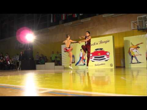 Olena Zbarska & Drok Yaroslav - World Cup Ljubljana 2012