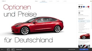 Tesla Model 3 Konfiguration Deutschland | in €