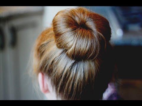 tutoriel coiffure n 1 astuces chignon bun sans donut youtube. Black Bedroom Furniture Sets. Home Design Ideas