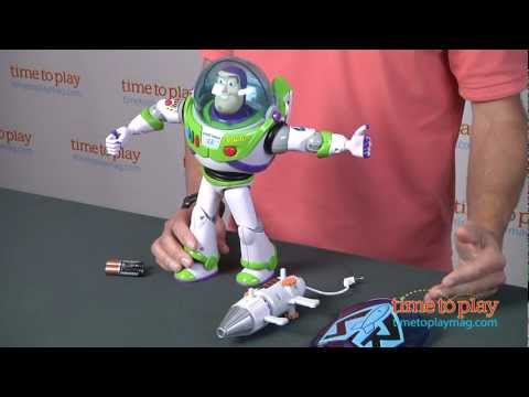 Power Blaster Buzz Lightyear from Thinkway Toys